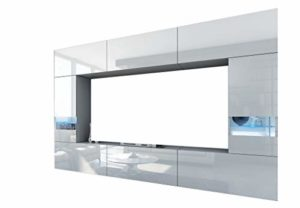 HomeDirectLTD Future 29 Moderne Wohnwand, Exklusive Mediamöbel ♥  ♥ Wohnwand