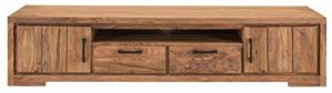 Sit Möbel Sanam Lowboard Sheesham, teilgeölt ♥  ♥ Lowboard Holz ♥ Designer Lowboard