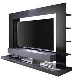 trendteam Wohnzimmer Anbauwand Wohnwand TTX05  in Korpus Grau ♥ Mediawohnwand ♥ Wohnwand