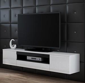lowboard h ngend tv schrank viva tv lowboard hochglanz. Black Bedroom Furniture Sets. Home Design Ideas