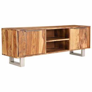 Festnight TV-Schrank   TV-Lowboard Sheesham Massivholz mit Honig-Finish  ♥  ♥ Lowboard Holz ♥ Designer Lowboard