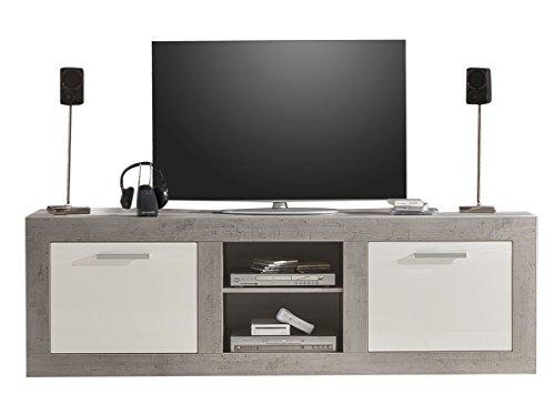 tv lowboard h ngend glas. Black Bedroom Furniture Sets. Home Design Ideas