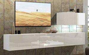 Home Direct Future 38 Weiß Moderne Wohnzimmer Wohnwand ♥  ♥ Wohnwand